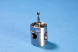Air turbine hole drilling residual stress