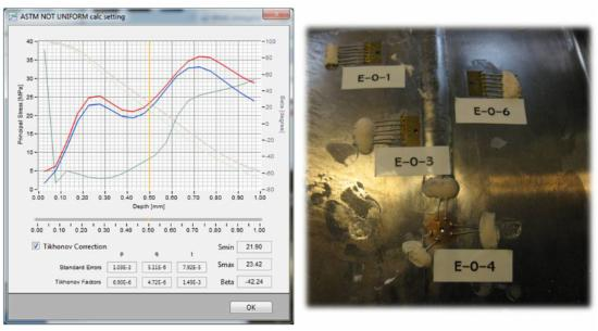 Welding aerospace residual stress measurements
